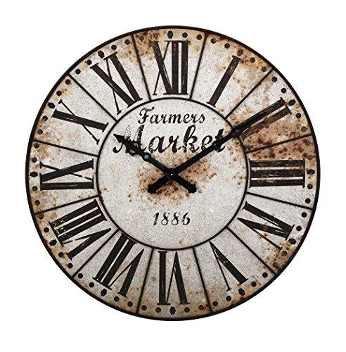- Imax Farmers Market Oversized Wall Clock