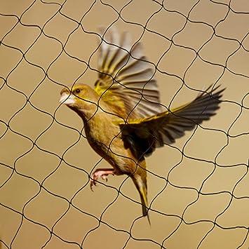 15x15m 60 mm Yahee Vogelschutznetz Laubnetz Teichnetz Netz zum Schutz vor V/ögeln Maschenweite