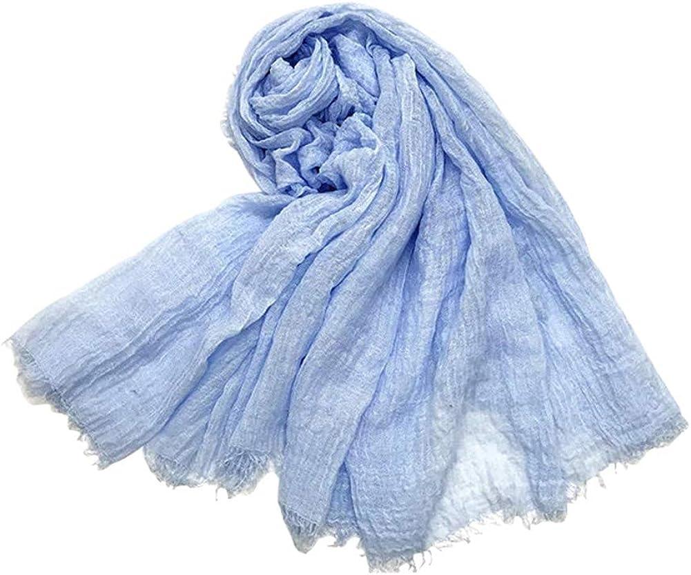 Solid Color Cotton Tichel |...
