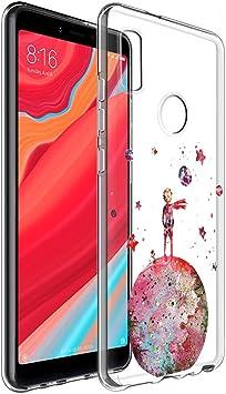 YOEDGE Funda Xiaomi Mi A2 Ultra Slim Cárcasa Silicona Transparente ...