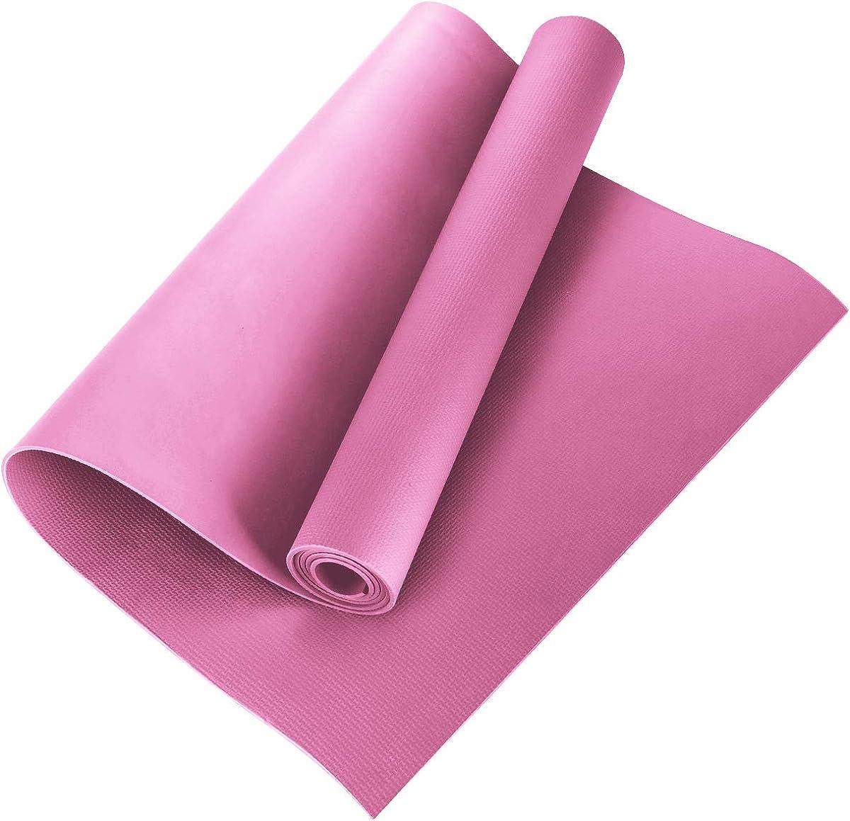 Tmtop Yoga Mat EVA Non-Slip Fitness Pad Workout Exercise Gym Mat Pilates Meditation Accessory Tool 173 * 60 * 0.4cm