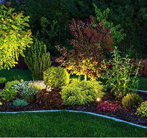 Foco de jardín led para interior/exterior 3 W GU10 I estaca I alumbrado de camino I luz de césped I lámpara de jardín I iluminación de jardín I luz de jardín I