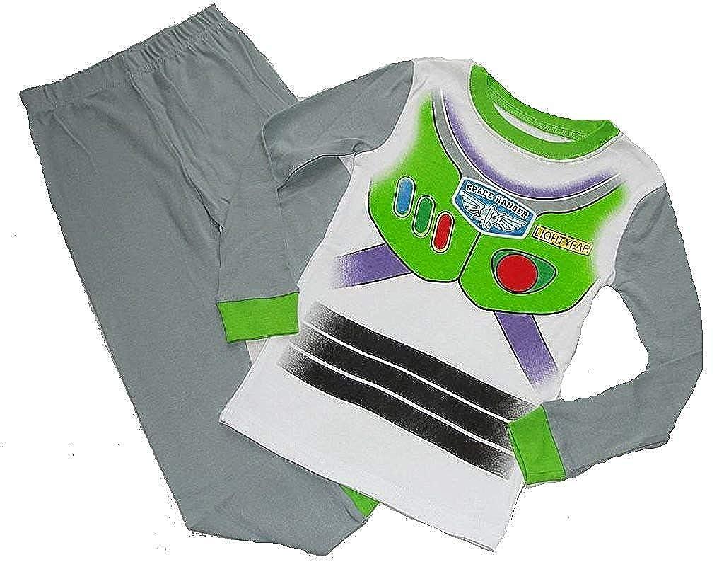 DISNEY TOY STORY Boys BUZZ LIGHTYEAR Space Ranger Pajama Pants Set