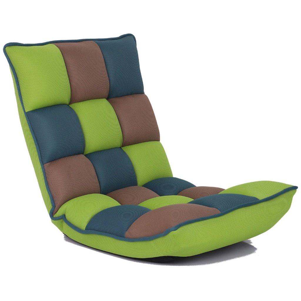 Unbekannt Bodenstuhl Innenverstellbarer Multiangle-faltender Boden-Spiel-Stuhl Für Schlafzimmer