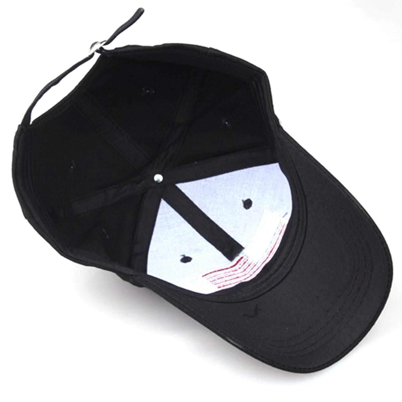 US Flag Embroidery Cotton Adjustable Baseball Cap Women Sun hat Men Sports Hats Fashion Casual Cap Travel caps