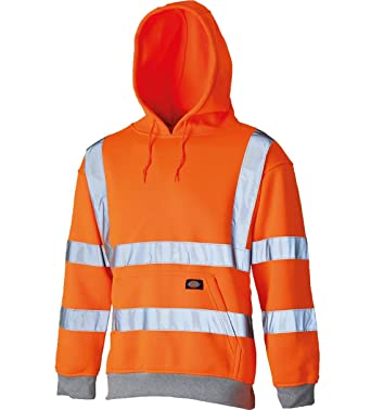 316f984e Amazon.com: My Choice Stuff Mens HI Vis Reflective Work Wear Pullover Hoodie  Adults Hi Viz Hooded Sweatshirt Small/4X-Large: Clothing