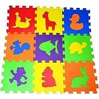 Oyun Halısı Yer Döşemesi Eva Puzzle Hayvanlar
