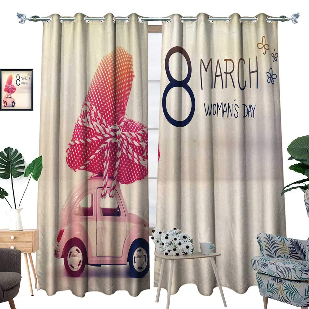 color03 fengruihome Thermal Insulated Blackout Curtain Light Blocking Curtains for Living Room Bedroom Women Face Sunglasses Tuesday Fashion Girls Set 96.5  X96.5