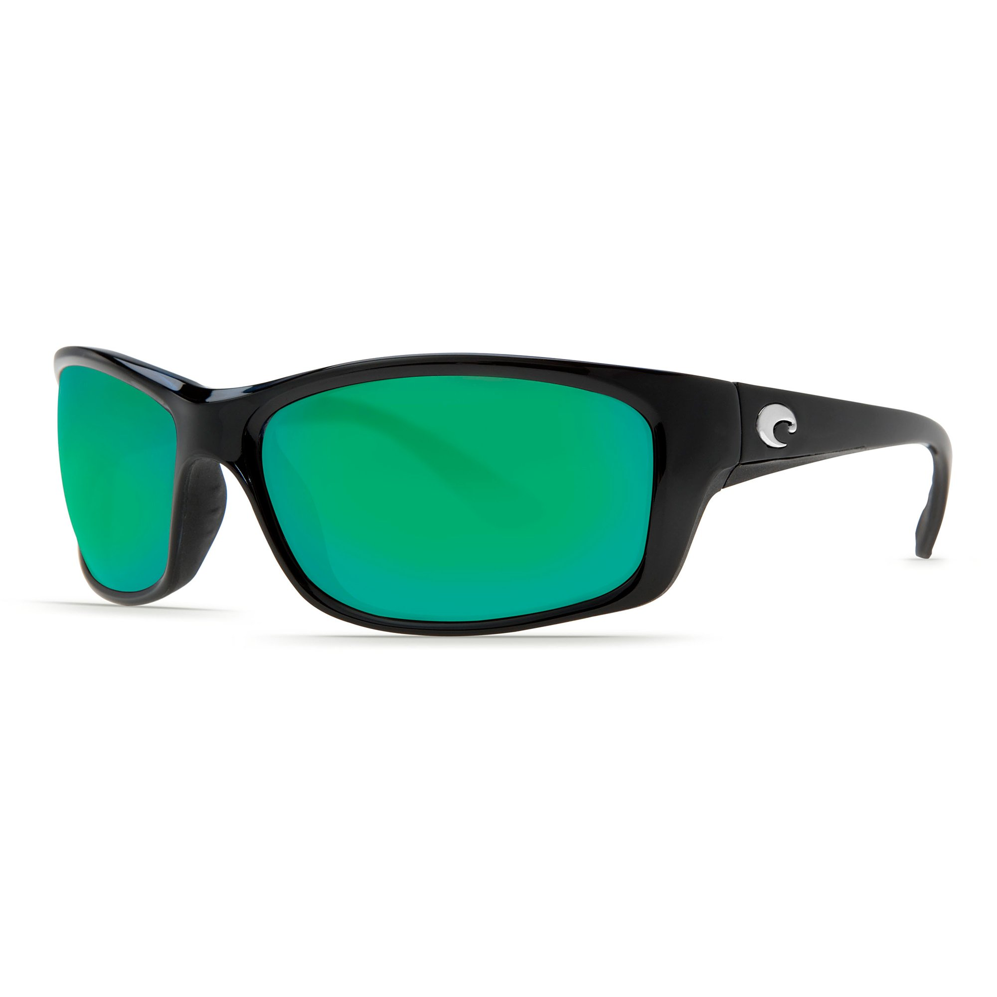 Costa Del Mar JO11GMGLP Jose Sunglass, Black Green Mirror