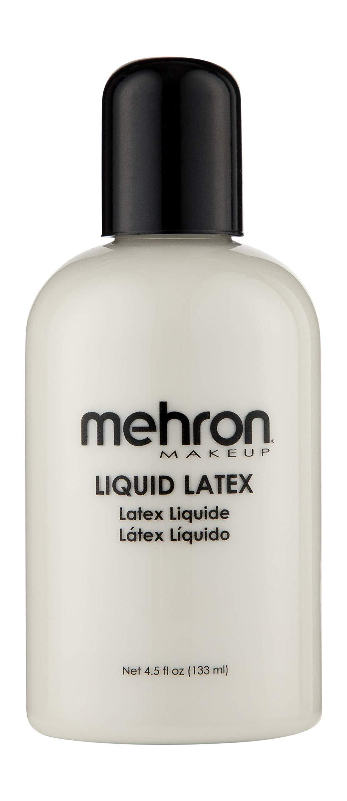 Mehron Makeup Liquid Latex (4.5 oz) (Clear)