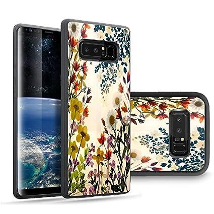 Amazon.com: Samsung Note 8 Caso Funda personalizada Negro ...