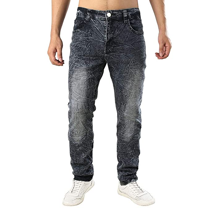 dd1021a2fd047 Rawdah Pantalones Hombre Pantalones de Pantalones Vaqueros de algodón de Mezclilla  para Hombres Pantalones De Hombre  Amazon.es  Ropa y accesorios