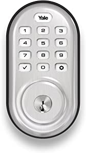 Yale Assure Lock with Zigbee - Smart Keypad Deadbolt - Works with Xfinity Home, Amazon Echo Show, Amazon Echo Plus and More - Satin Nickel