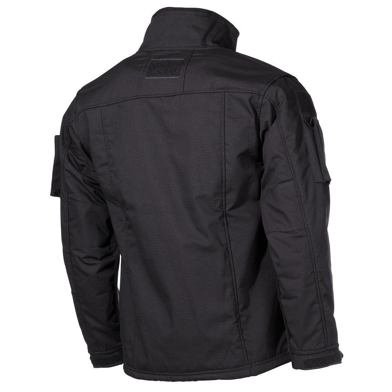 MFH Hommes US Combat Fleece Jacket Noir: Amazon.fr: Vêtements et accessoires