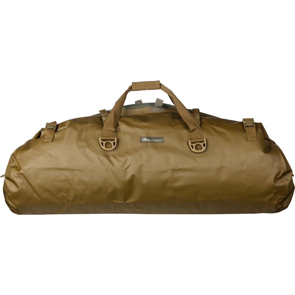 Watershed Mississippi Waterproof Duffel (Black) by Watershed