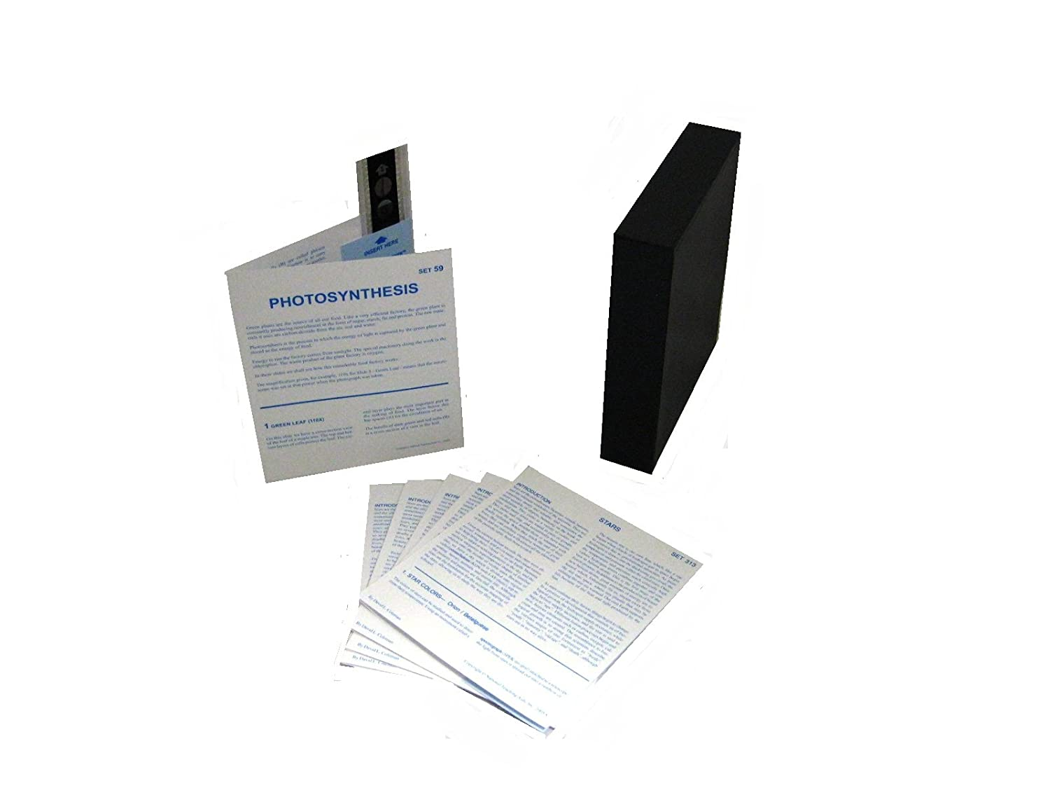 American Educational MicroSlide Photosynthese Lesson Set, Box of 1, 1