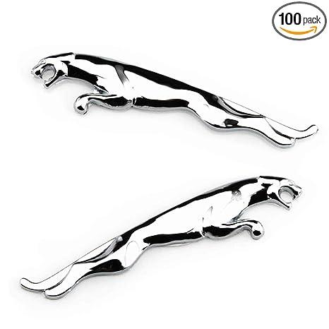 Amazon.com: 2PCS 3D Auto coche metal cromado emblema ...
