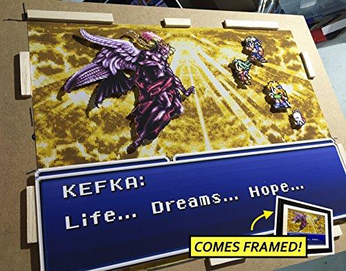 Final Fantasy 6 Diorama (Framed Artwork) SNES