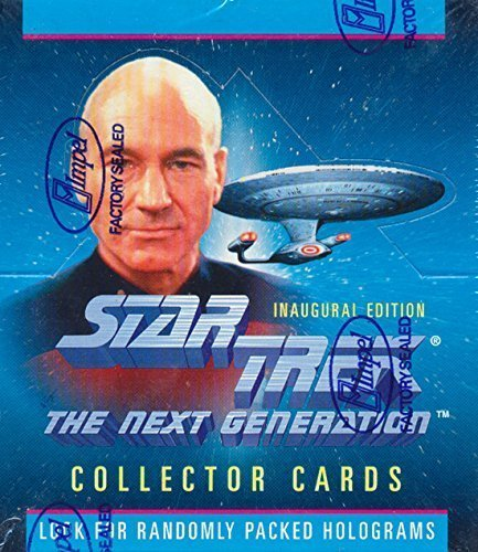 (Star Trek the Next Generation Collector Trading Cards Box 36 packs)