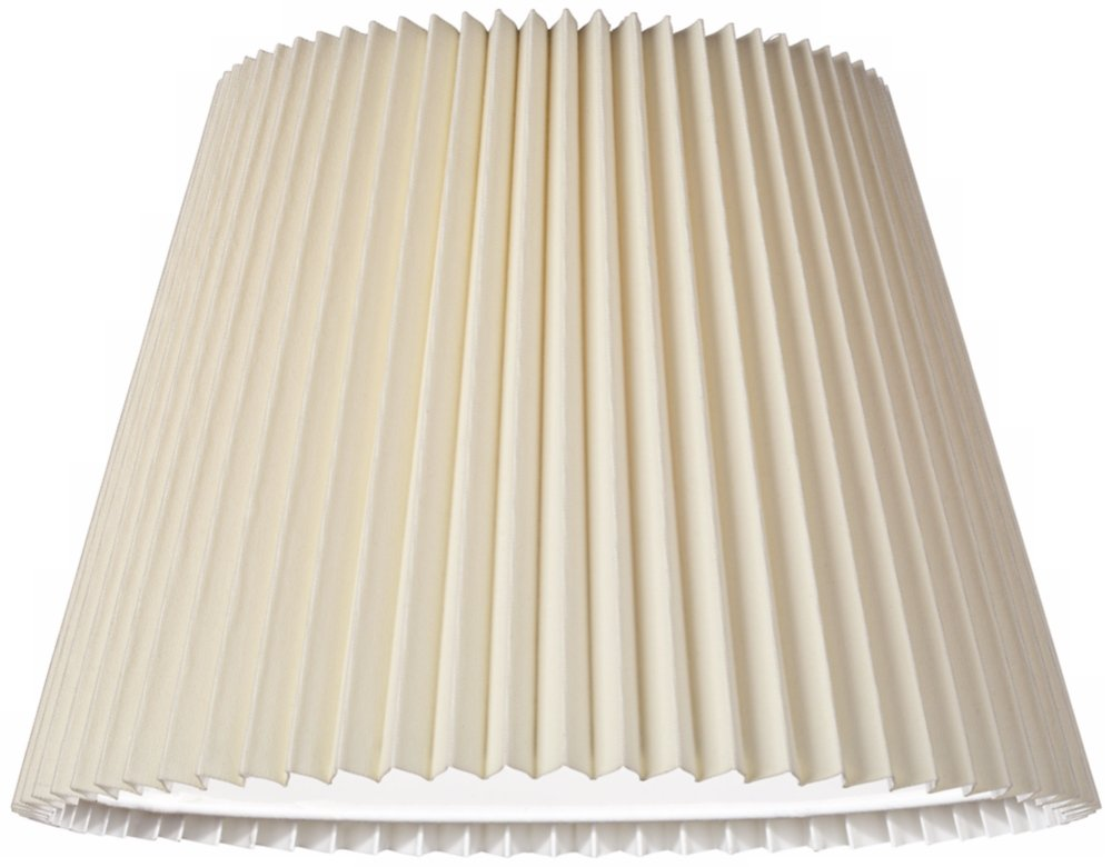 Ivory linen knife pleat lamp shade 9x145x10 spider lampshades ivory linen knife pleat lamp shade 9x145x10 spider lampshades amazon mozeypictures Image collections