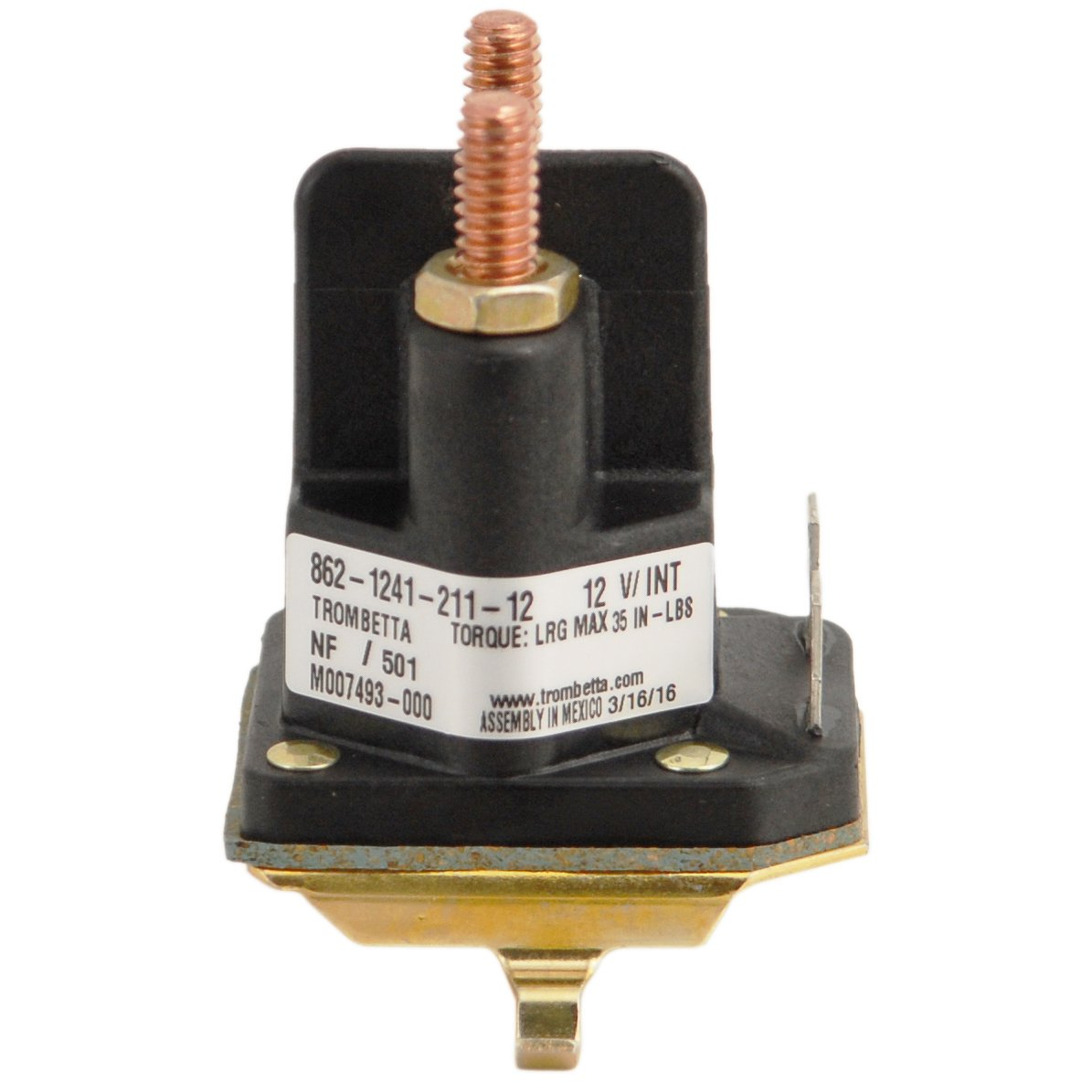 61Hxl8Q smL._SL1195_ amazon com rotary 14222 starter solenoid lawn mower solenoids Craftsman 146154 94265-Wrl Part at panicattacktreatment.co