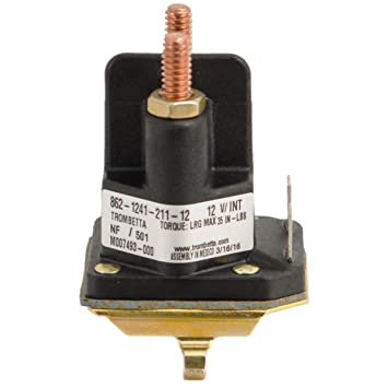 61Hxl8Q smL._SY355_ amazon com rotary 14222 starter solenoid lawn mower solenoids husqvarna yth21k46 wiring diagram at fashall.co