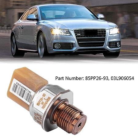 Sensor de presión de combustible - 1 PC de Sensor de presión de riel de combustible para Audi A3 A5 A6 Q5 VW Jetta Passat Golf Beetle 85PP26-93.