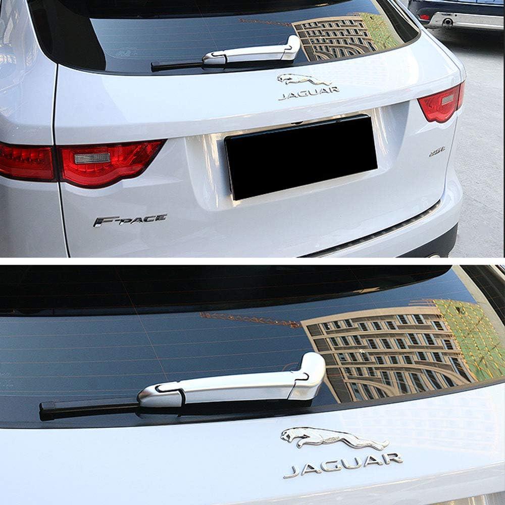 YEEXCD Jaguar Emblema de la Insignia de la Puerta Posterior del Tronco Posterior del Logotipo de la Insignia del Cuerpo de Coche Pegatinas para Jaguar,Plata