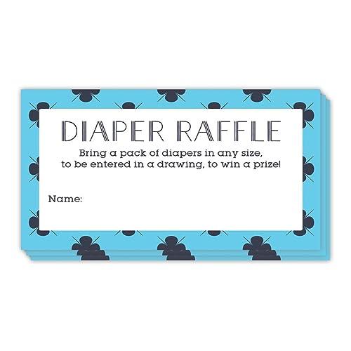 amazon com digibuddha diaper raffle tickets 48 pack guest