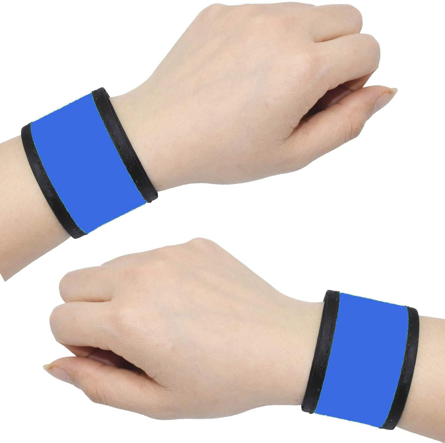 LED Light-Up Flashing Safety Reflective Arm Band For Cycling Running Jogging New