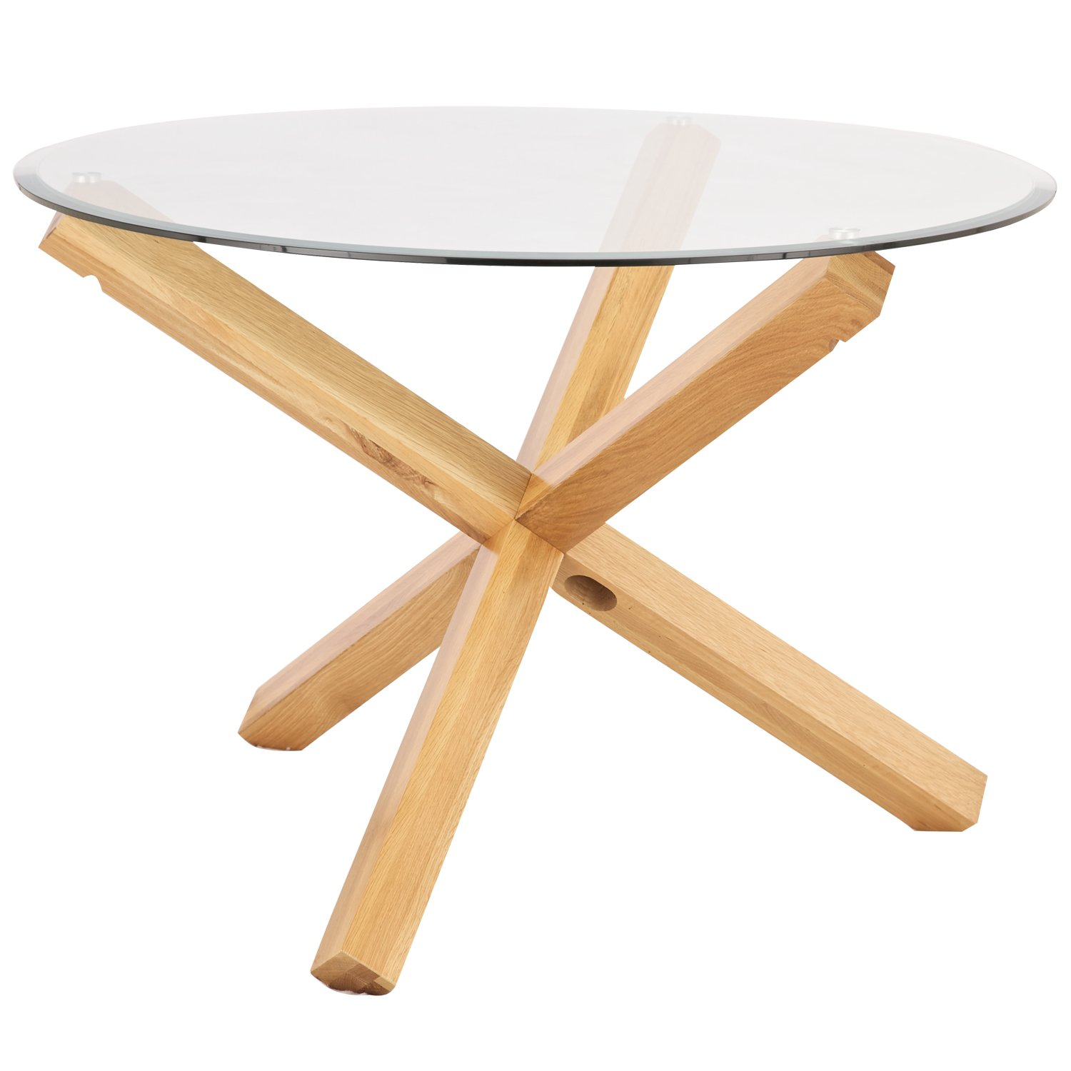 Oporto Glass Topped Round Tables   Dining, Coffee, End: Amazon.co.uk:  Kitchen U0026 Home