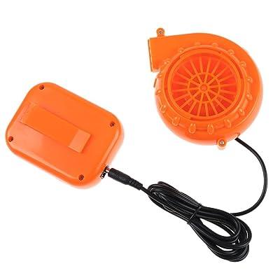 Ventilador - SODIAL(R)Mini Ventilador soplador para la mascota Cabeza inflable Disfraz 6V accionado por Bateria seca: Hogar