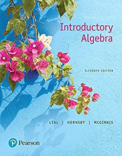 Introductory algebra 11th edition the bittinger worktext series introductory algebra 11th edition fandeluxe Images
