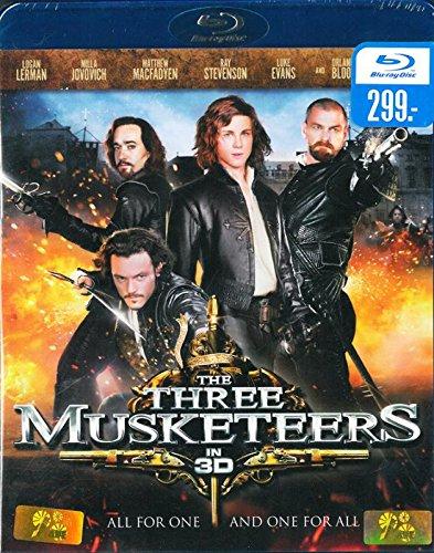 The Three Musketeers 3D (Blu-Ray) Logan Lerman, Milla Jovovich, Matthew MacFadyen, Ray Stevenson, Orlando Bloom Brand New