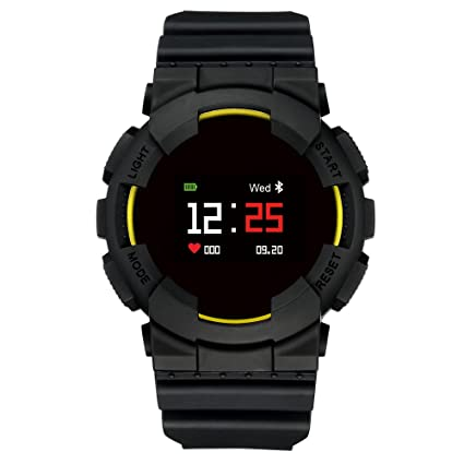 Hangang MX Smart Watch Fitness Tracker Tensiómetro de pulso reloj Smart Relojes Bluetooth agua Densidad Outdoor
