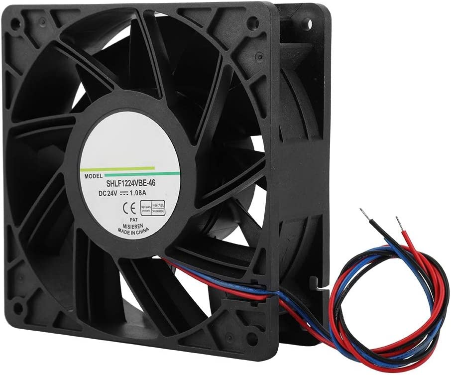 Taidda Heat Dissipation Cooling Fan Cooler SHLF1224VBE-46 DC24V 12CM Industrial Chassis Fast Heat Dissipation Cooling Fan Cooler