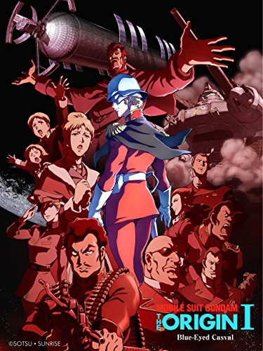 MOBILE SUIT GUNDAM THE ORIGIN Blue-Eyed Casval (Dubbed)