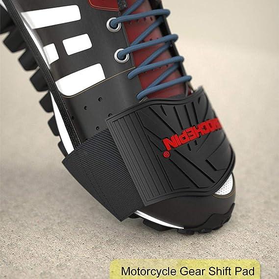 Azurely Motorrad Schuhschutz Motorrad Gangschaltung Schuhschutz Gummi Motorrad Stiefel Motorrad Motorrad Gadget Auto