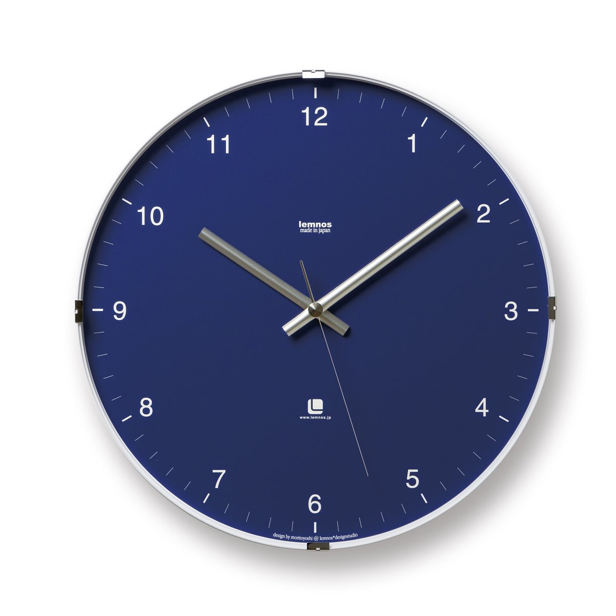 Lemnos north t1 0117 large wall clock in japanese style with clear lemnos north t1 0117 large wall clock in japanese style with clear clock face blue amazon kitchen home amipublicfo Image collections