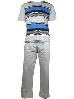 Conjunto de pijama para hombre, 2 piezas, tallas M-XXL