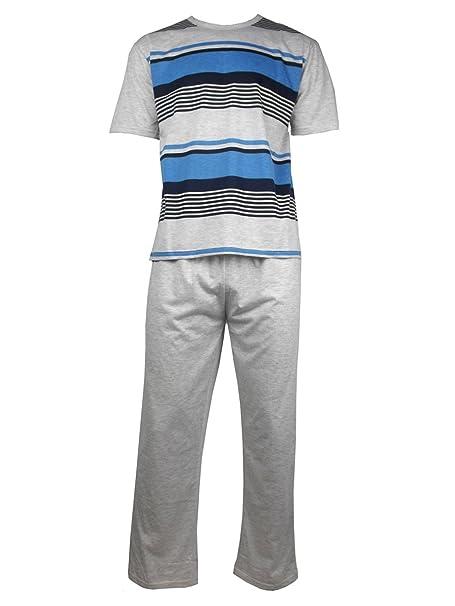 Conjunto de pijama para hombre, 2piezas, tallas M-XXL Gris Marl