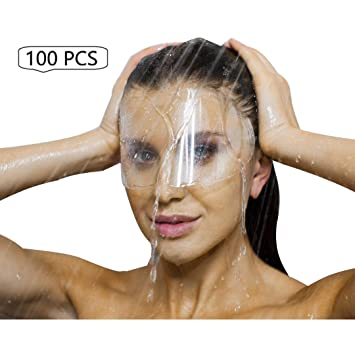 100 Pcs Microblading Permanent Makeup Cosmetic Tattoo Eyelash Extensions Eye Surgery Eyelid Surgery Blepharoplasty Aftercare Protective Water Visors