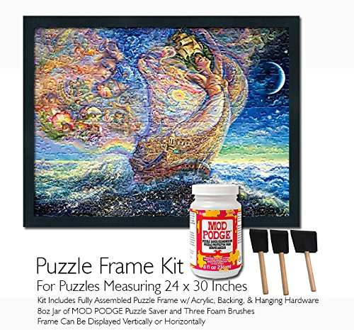 Mod Podge Jigsaw Puzzle Frame Kit - For Puzzles Measuring 24x30 Inches