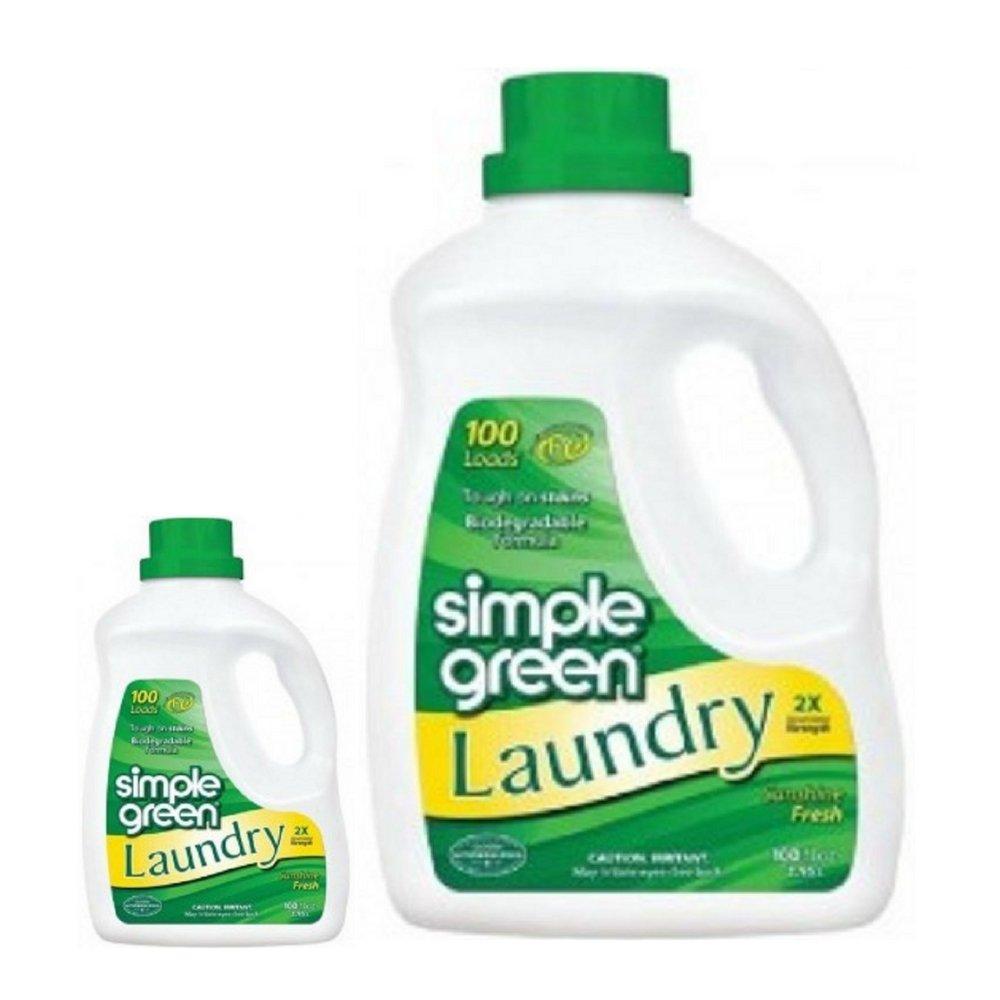 Simple Green Laundry Sunshine Fresh 100 Oz (2 Pack)