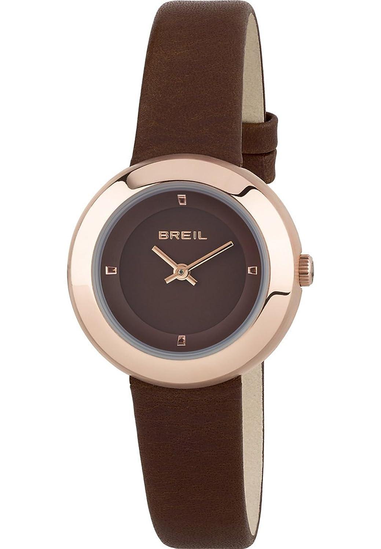 Breil Damen-Armbanduhr Analog Quarz One Size - braun