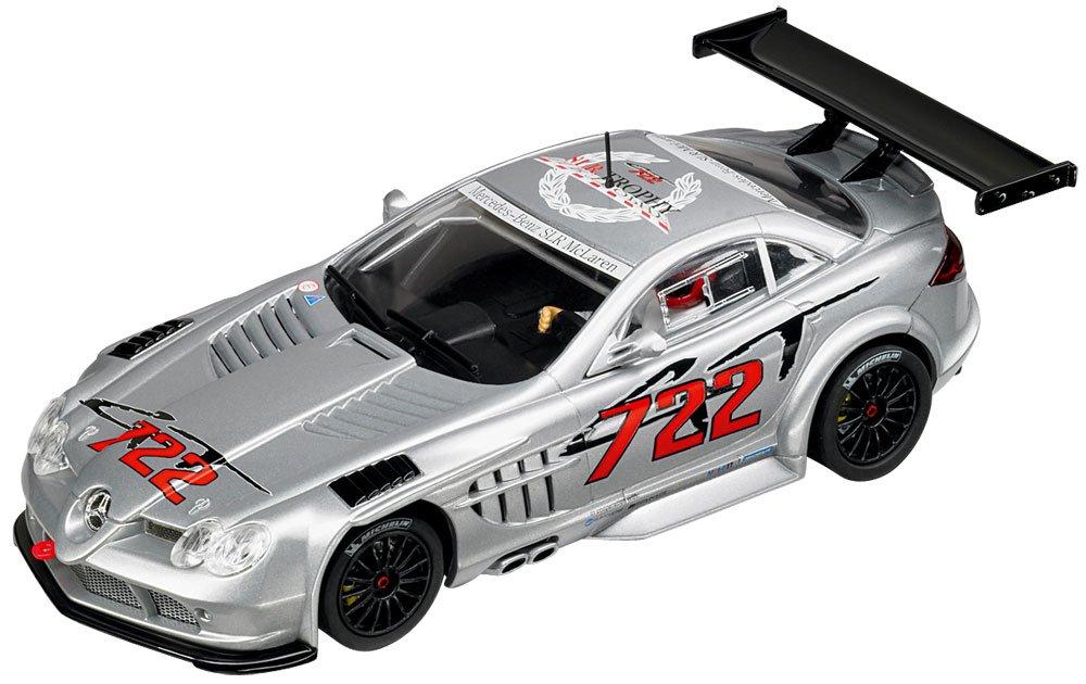 """Carrera Evolution - voitures pour circuit - 20027298 - 1/32 eme analogique - Mercedes-Benz SLR McLaren GT SLR. CLUB. Trophy 2008 """"No.722""""°"""