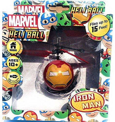 Marvel Avengers Heliball Flying Helicopter Powerful Levitation Sphere (IRON MAN)
