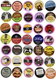 keurig 2 coffee pods - Two Rivers Coffee, Tea, Cocoa, Cider, Cappuccino Single-cup Sampler Pack for Keurig K-Cup Brewers, 40 Count
