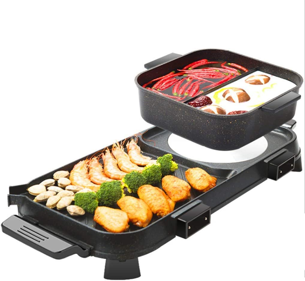 CZALBL Electric Oven, Household Fire Boiler, Barbecue Stove, Large Oven, One Pot, Electric Oven