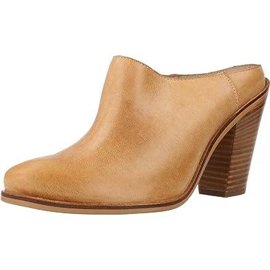 Wonders Pantoletten/Clogs Damen, Color Braun, Marca, Modelo Pantoletten/Clogs Damen 69492 Braun